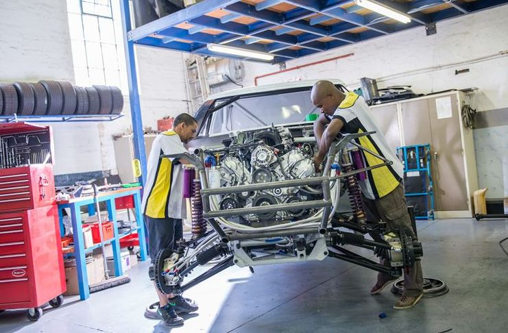 Renault's race Duster ready to take on the Dakar