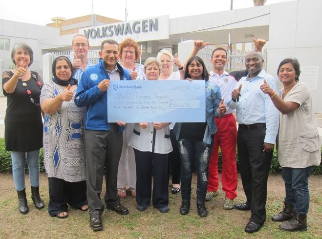 Volkswagen Community Trust donates over half a million to local charities