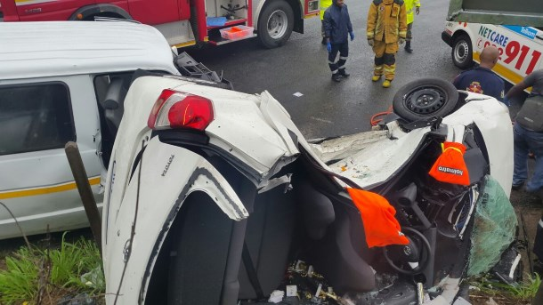 Old St Faiths Road crash leaves three injured (2)