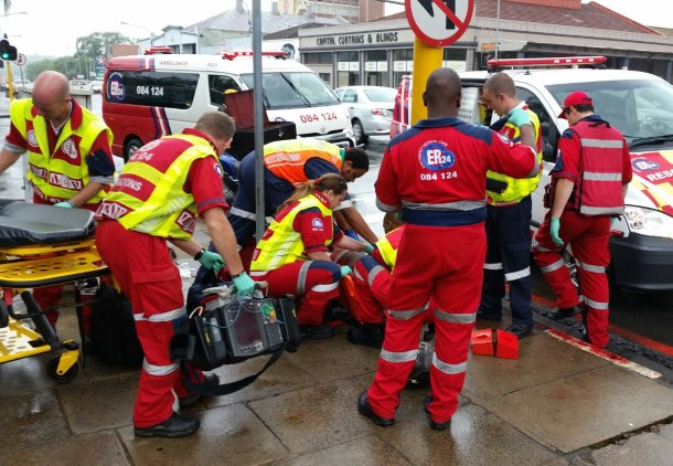 Pietermaritzburg Man injured after falling off motorbike
