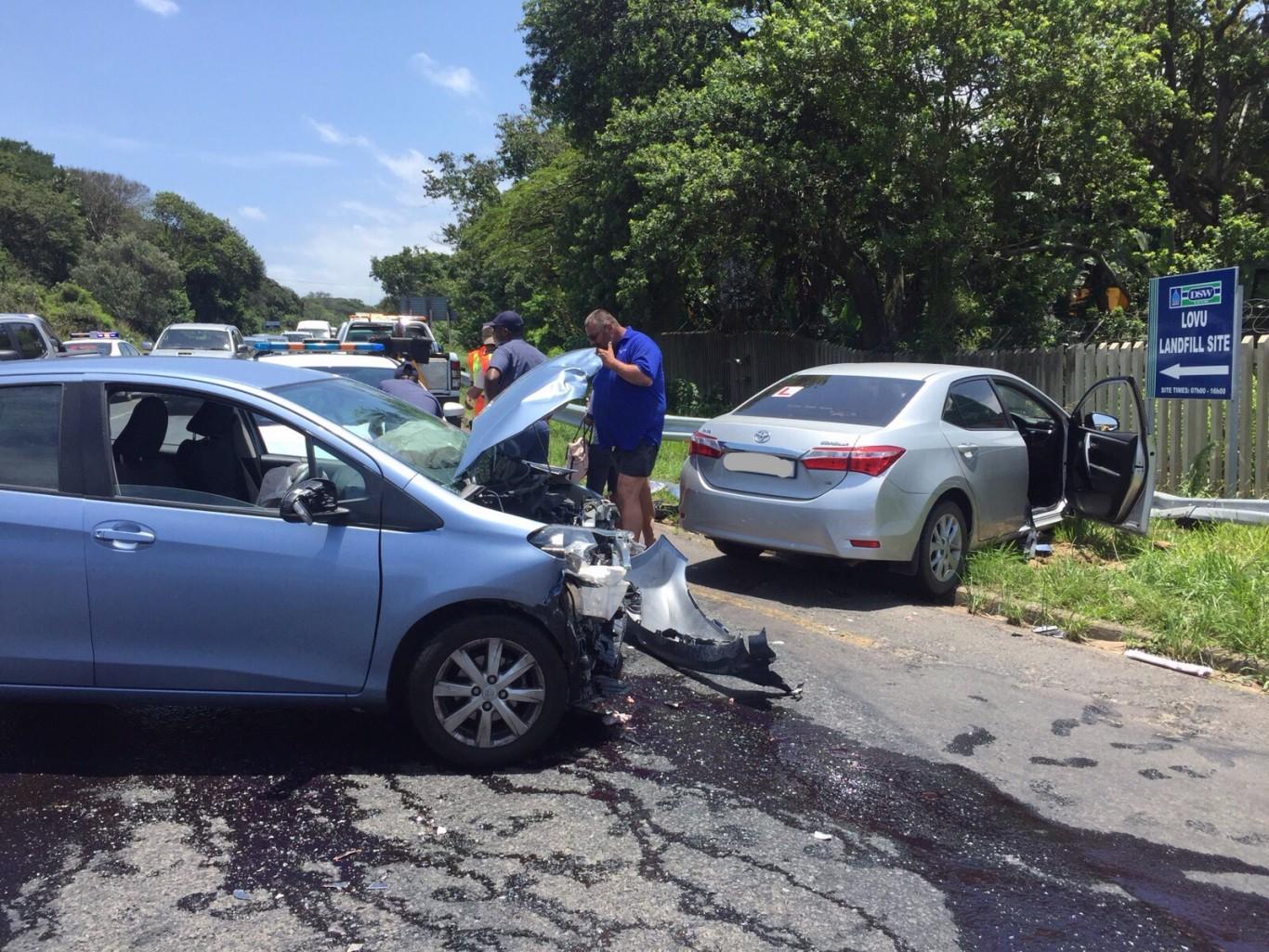 Winkelspruit crash leaves three hurt
