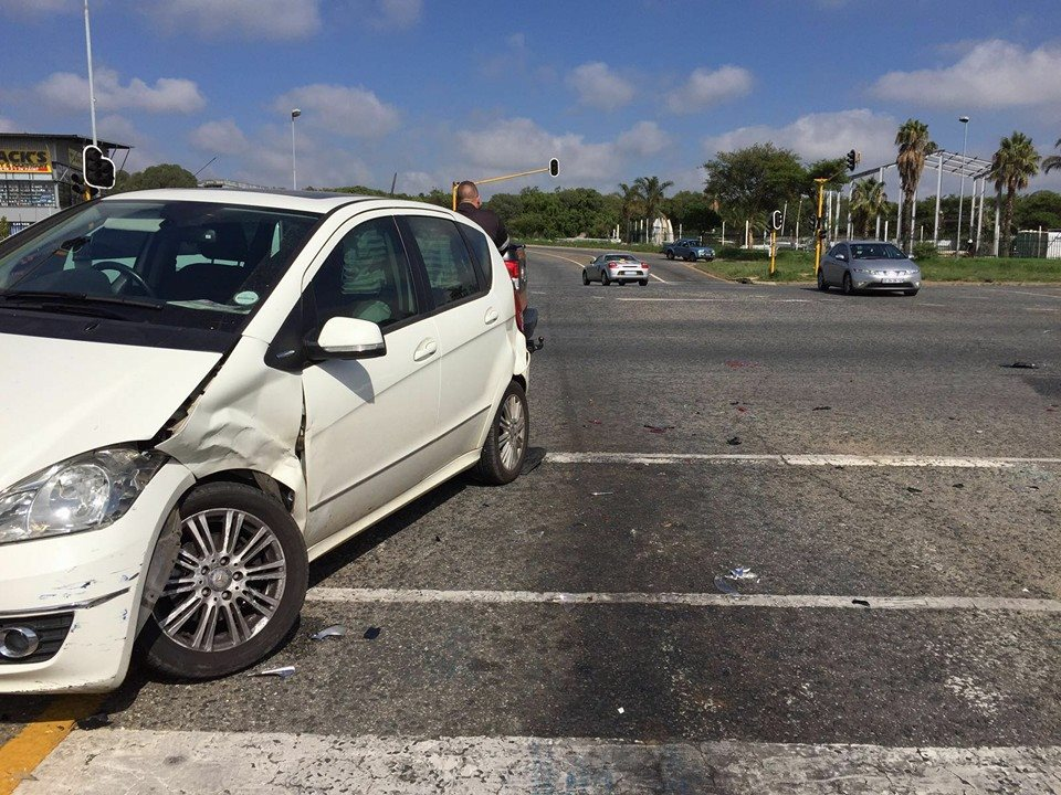 One injured in collision at intersection in Northriding