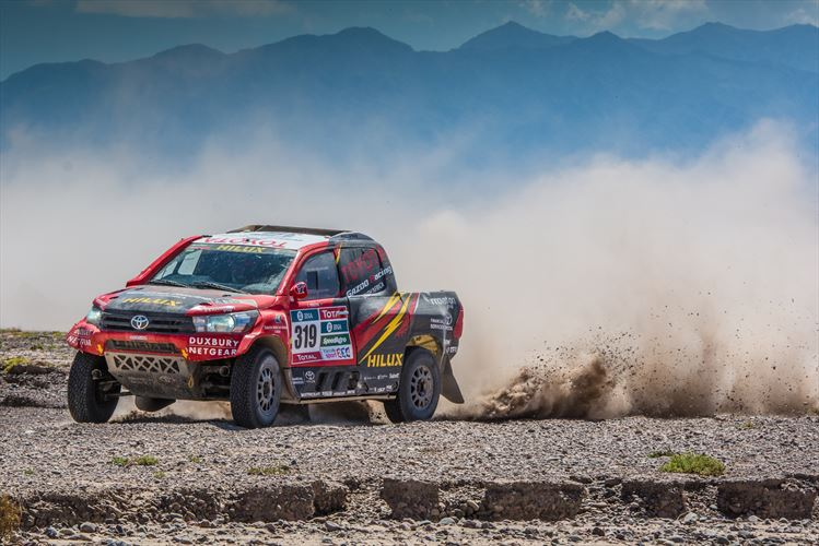 Poulter narrowly misses out on stage win at Dakar 2016