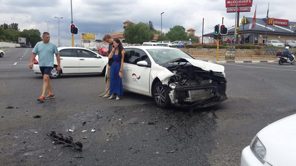 One injured in collision at Malibongwe