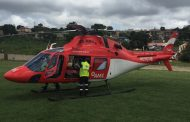 KZN Health EMS Helicopter responds to the rescue of 5 year-old boy hit by car