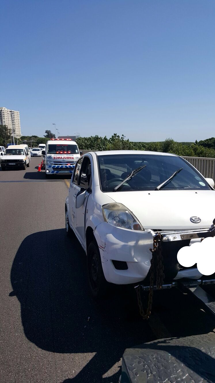One injured in collision on the M4 near the Umgeni River bridge
