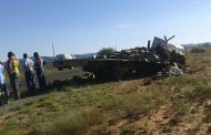 Two men died and two others injured after trucks collided on the N14 near Upington