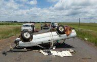 Bakkie overturns: Seven injured close to Middelburg