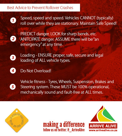 Vehicle rollover leaves woman seriously injured off the R42 near Three Rivers.