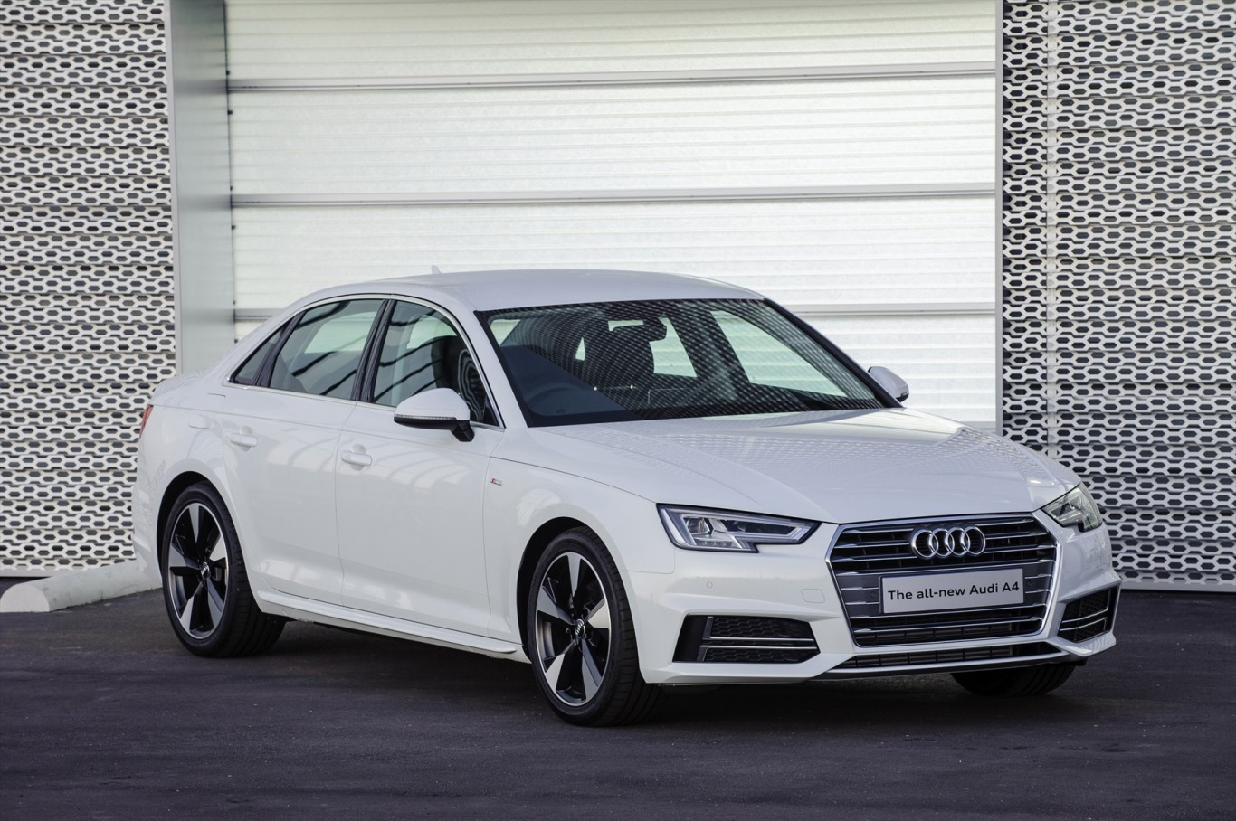 Progress is intense - the all new Audi A4