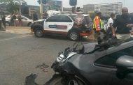 Biker injured in collision in Parktown