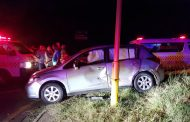 10 injured in T Bone crash at the intersection of the N2 and M7