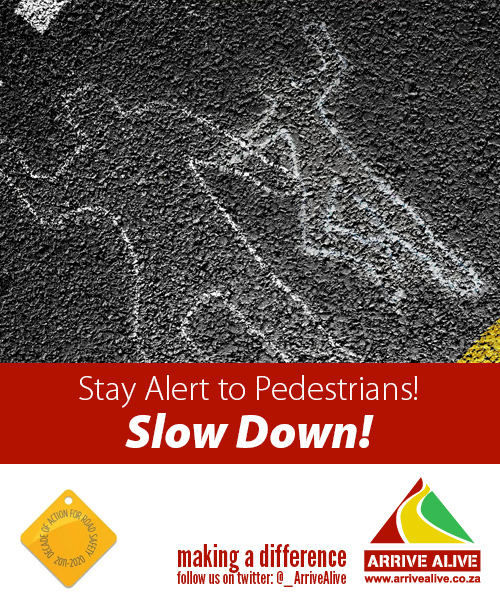 Pedestrian seriously injured in collision, Vanderbijlpark.
