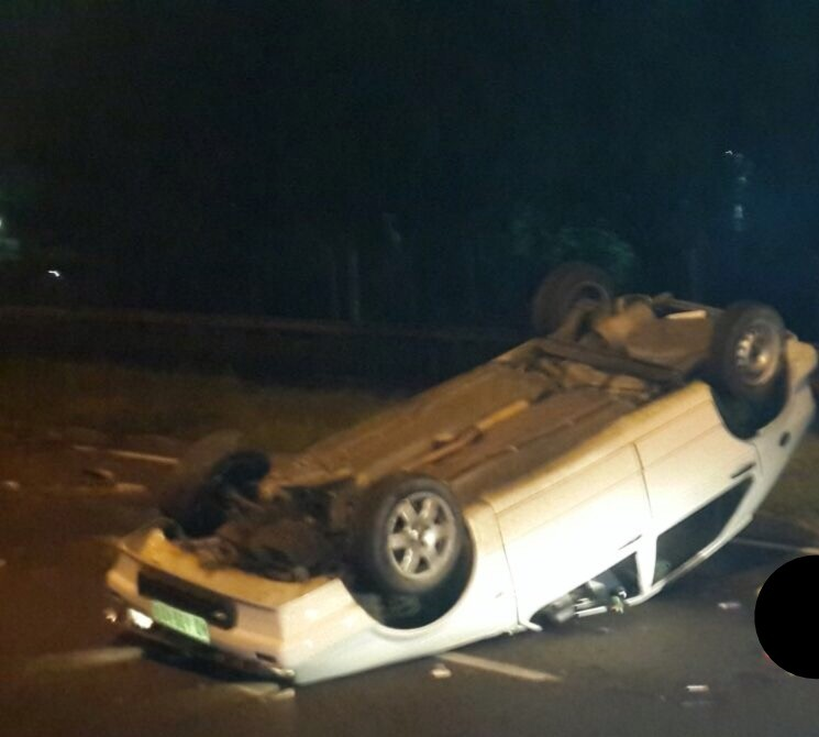 One seriously hurt in M4 crash
