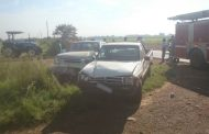 Two bakkies collide in Midvaal injuring five