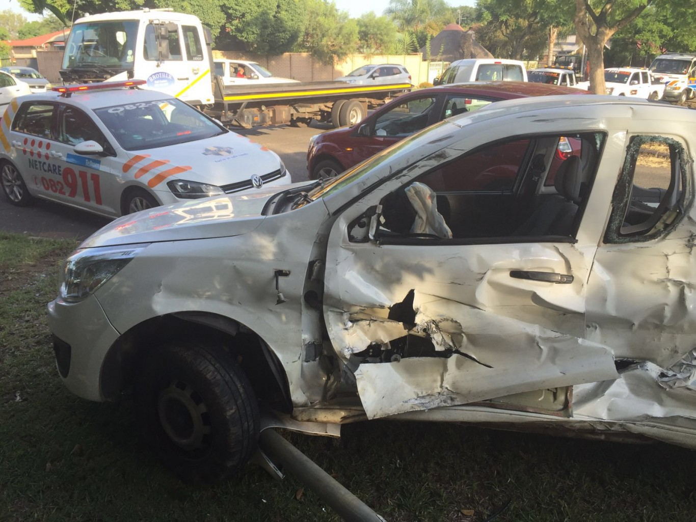 One injured in collision in Rietfontein, Pretoria