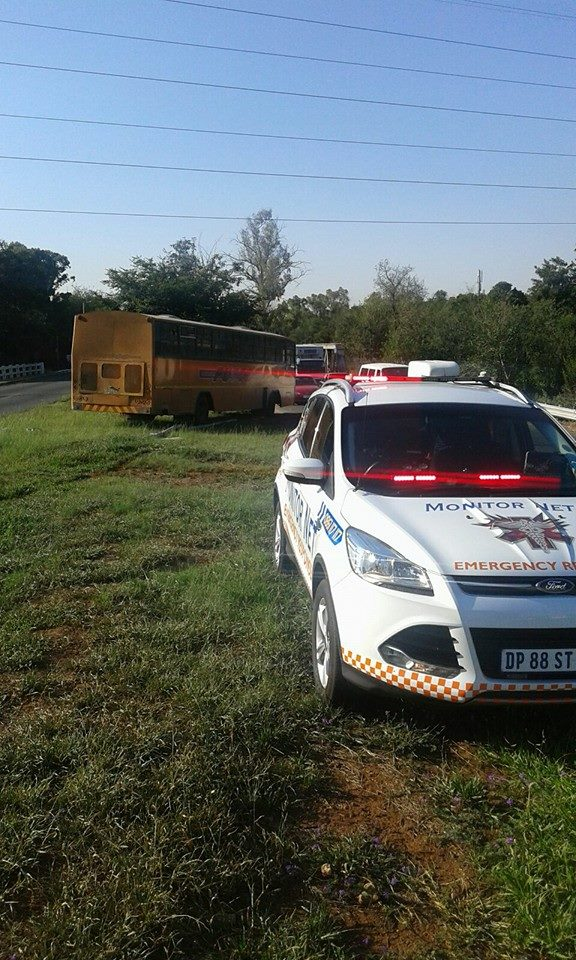 Pedestrian killed when struck by bus in Centurion