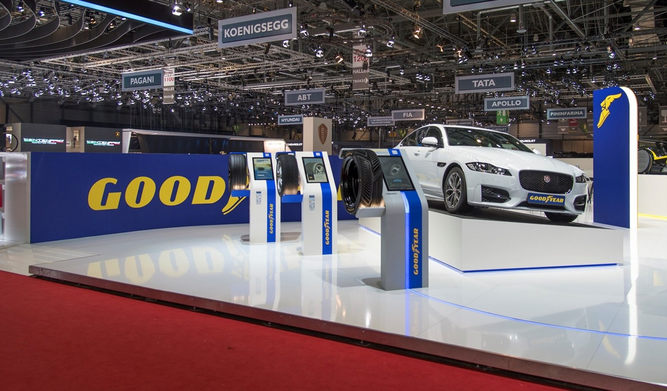 Goodyear showcases concept tyre with advanced sensor technology for early generation autonomous vehicles