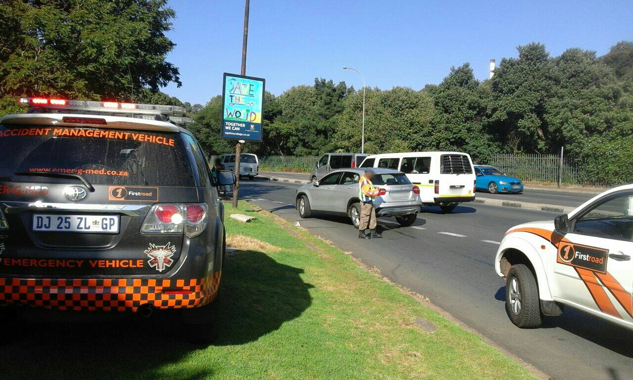 Collision in Houghton as motorist swerves to avoid colliding with taxi