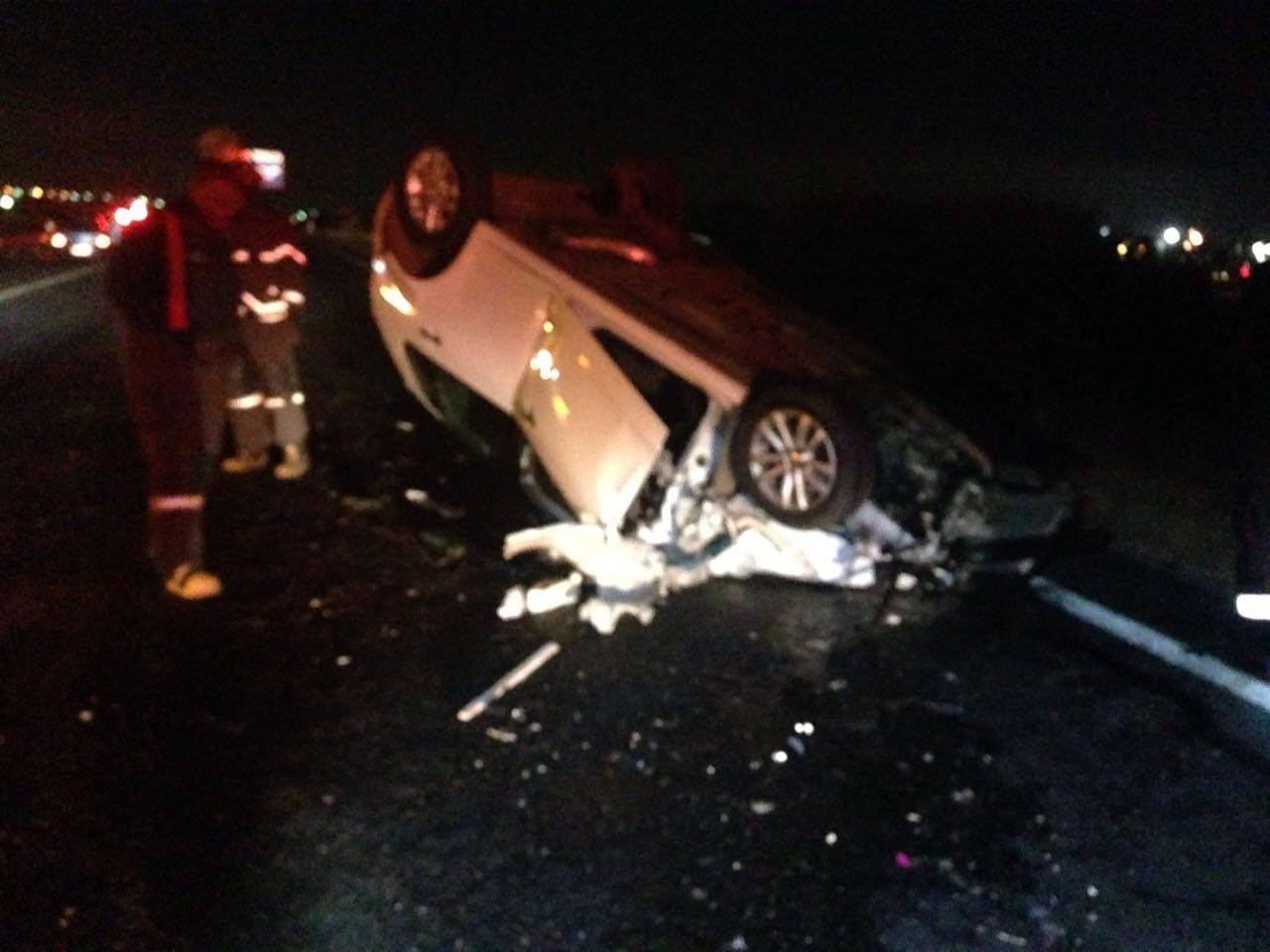 One injured in crash on corners of Terrace and Driefontein Roads, Edenvale