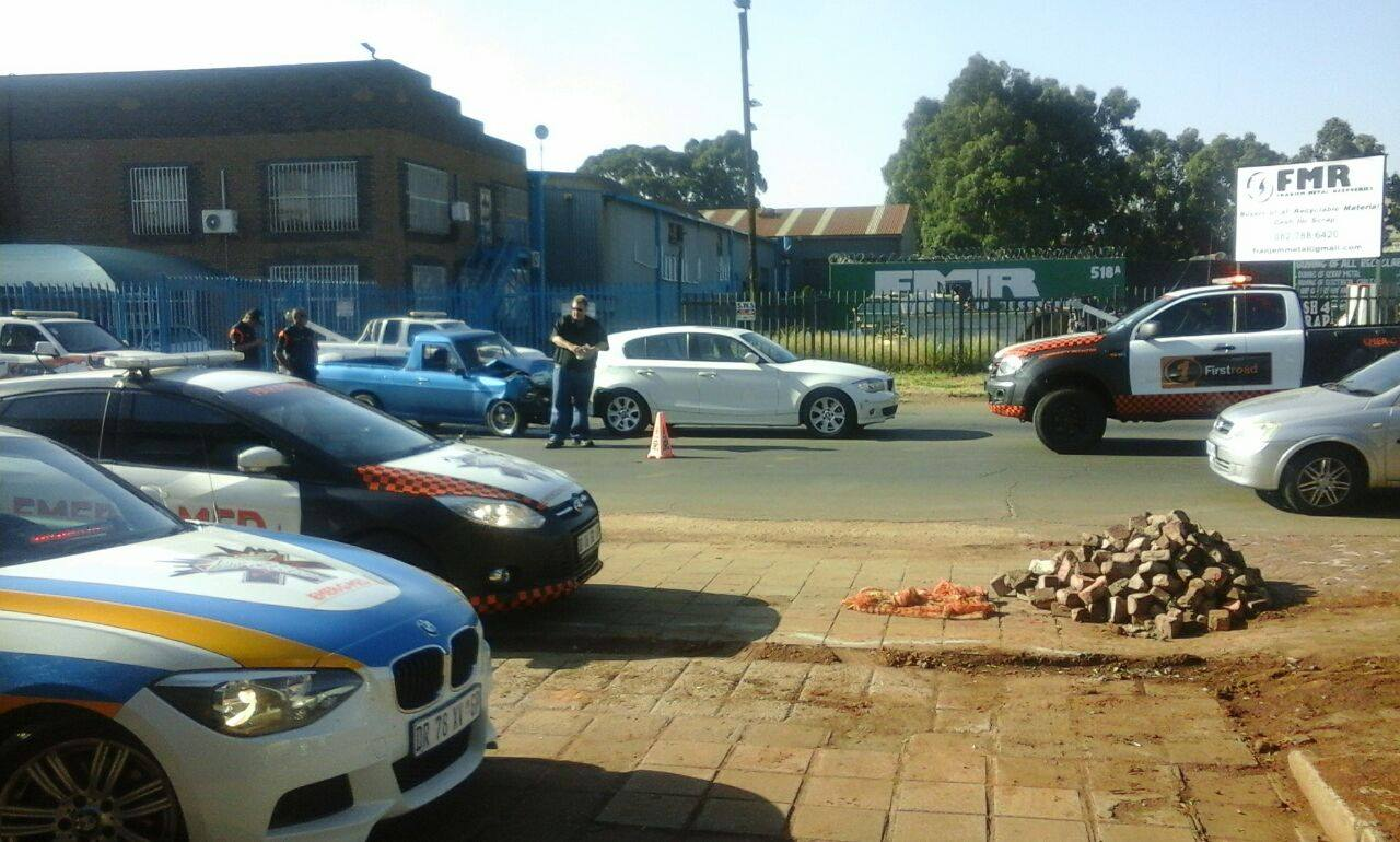 Two critical after Potchefstroom collision at intersection