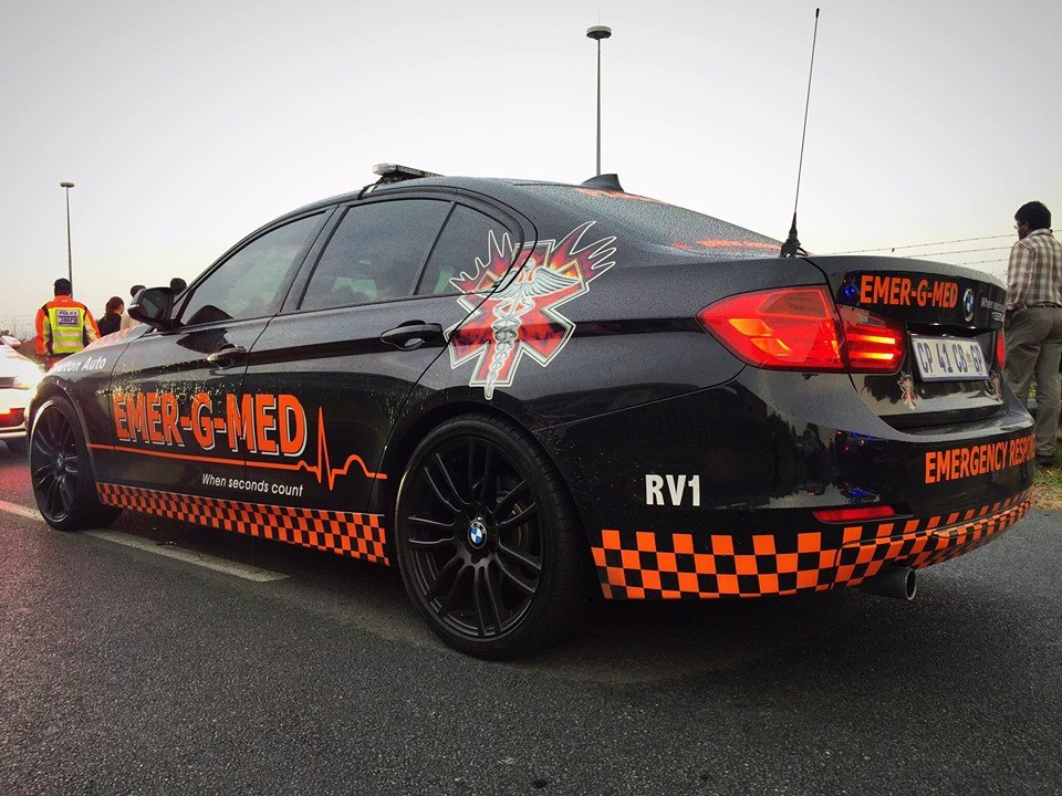 Motorist stabilized after suffering medical event on N1 near New Road, Midrand