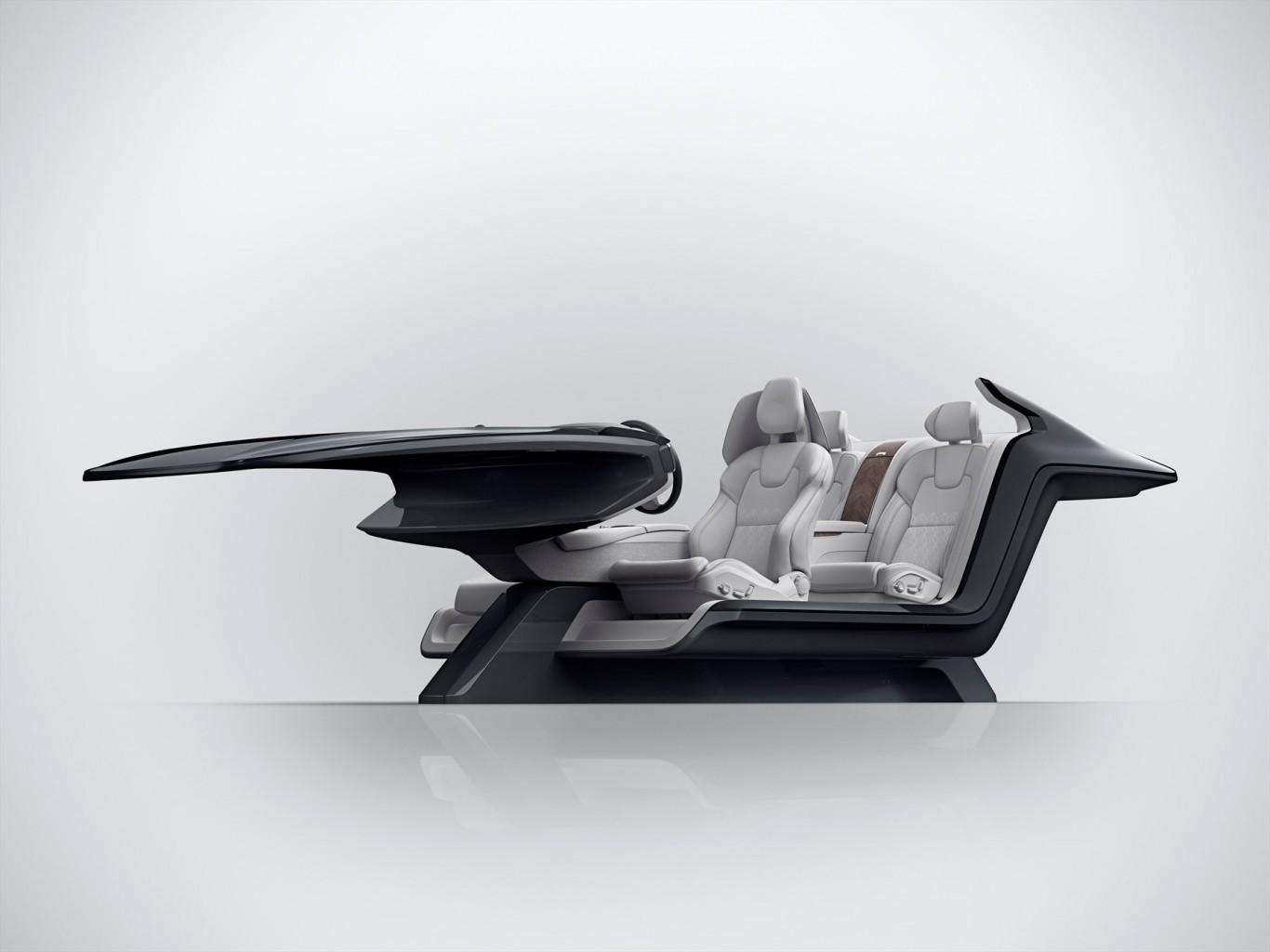 Volvo S90 Excellence interior concept a piece of art