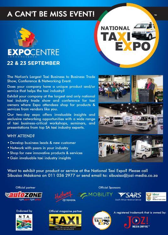 SA National Taxi Expo 2016