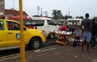 Pedestrian critical after collision, Amanzimtoti