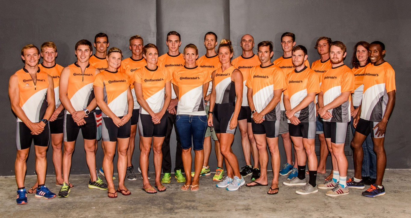 Continental's Dream Team for 2016 Corporate Triathlon Challenge