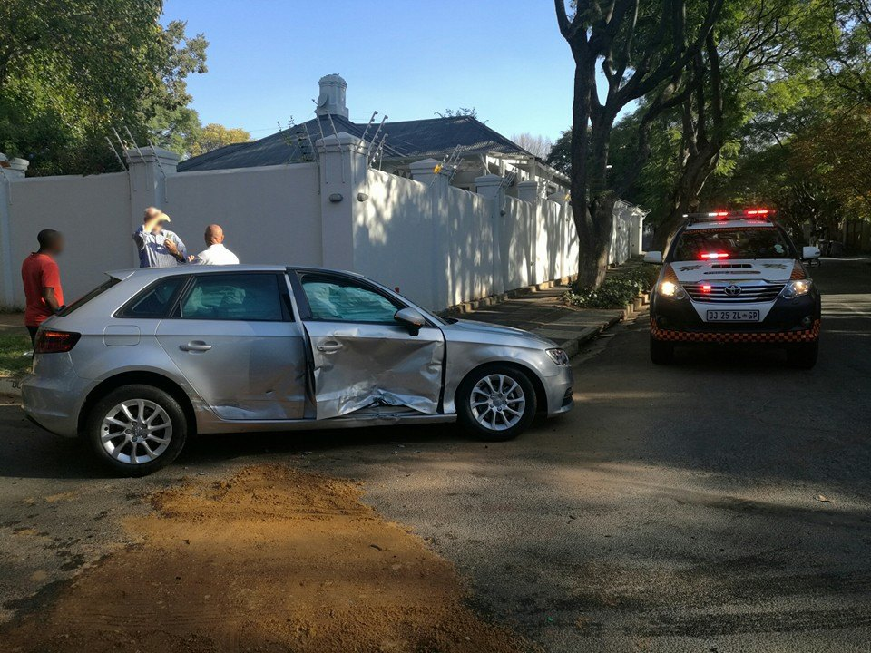 T-Bone collision after motorist allegedly skips stop street in Parkview