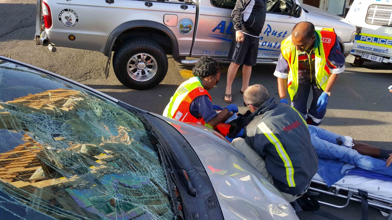 Amanzimtoti pedestrian crash leaves one seriously injured