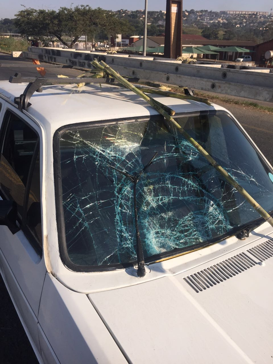 Two men killed, four others injured in collision between three vehicles