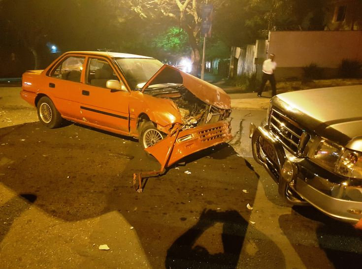 Taxi crash leaves 10 injured Durban