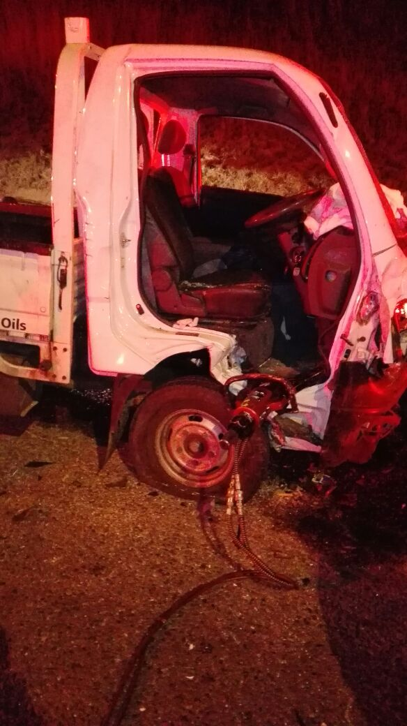 One critical after collision in Poortview in Roodepoort, Gauteng