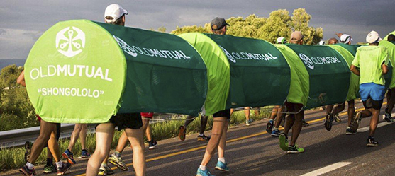 Shongololo makes Comrades Marathon debut