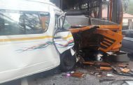 Pretoria Taxi driver dies in collision with bus