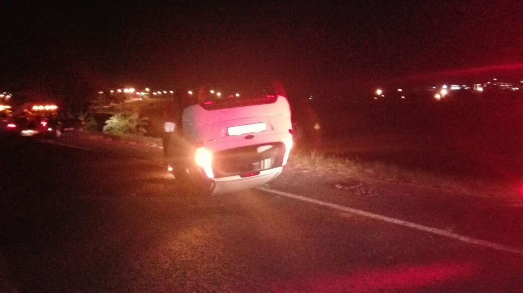 One injured in rollover on the R61 in Shelley Beach, Kwa-Zulu Natal.
