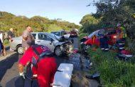 Three injured in head-on collision, Amanzimtoti