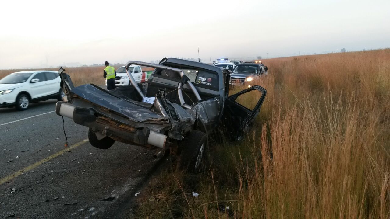 Three vehicle collision in Vanderbijlpark leaves two dead and two injured