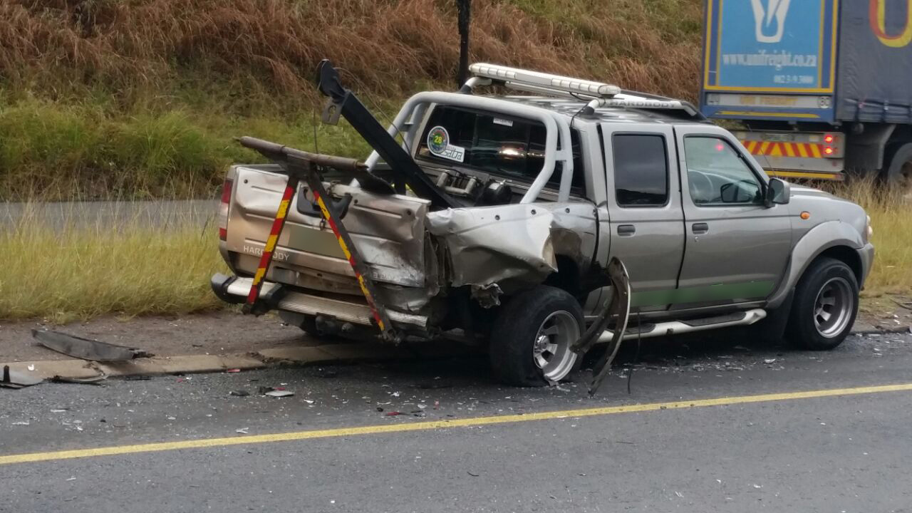 Two collisions leave five injured, Pietermaritzburg (1).