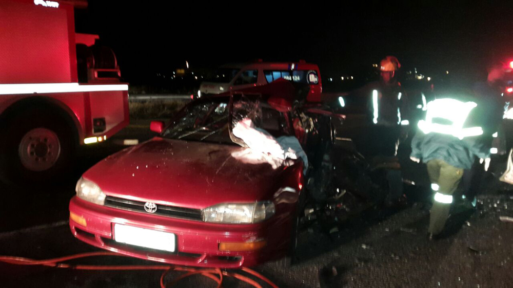 Randburg: Five injured in head on collision
