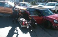 Drivers injured in collision at intersection in Rosebank