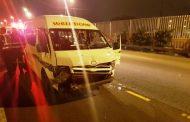 15 Injured in taxi crash on the M4 South near Dahlbridge