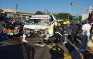16 injured in Taxi crash on the M1 Higginson Highway