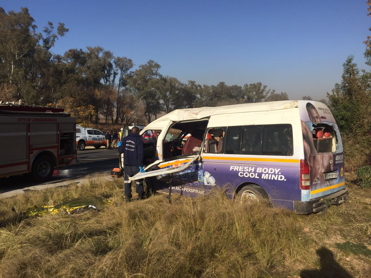 Taxi collision leaves 3 dead, several more injured, Randburg