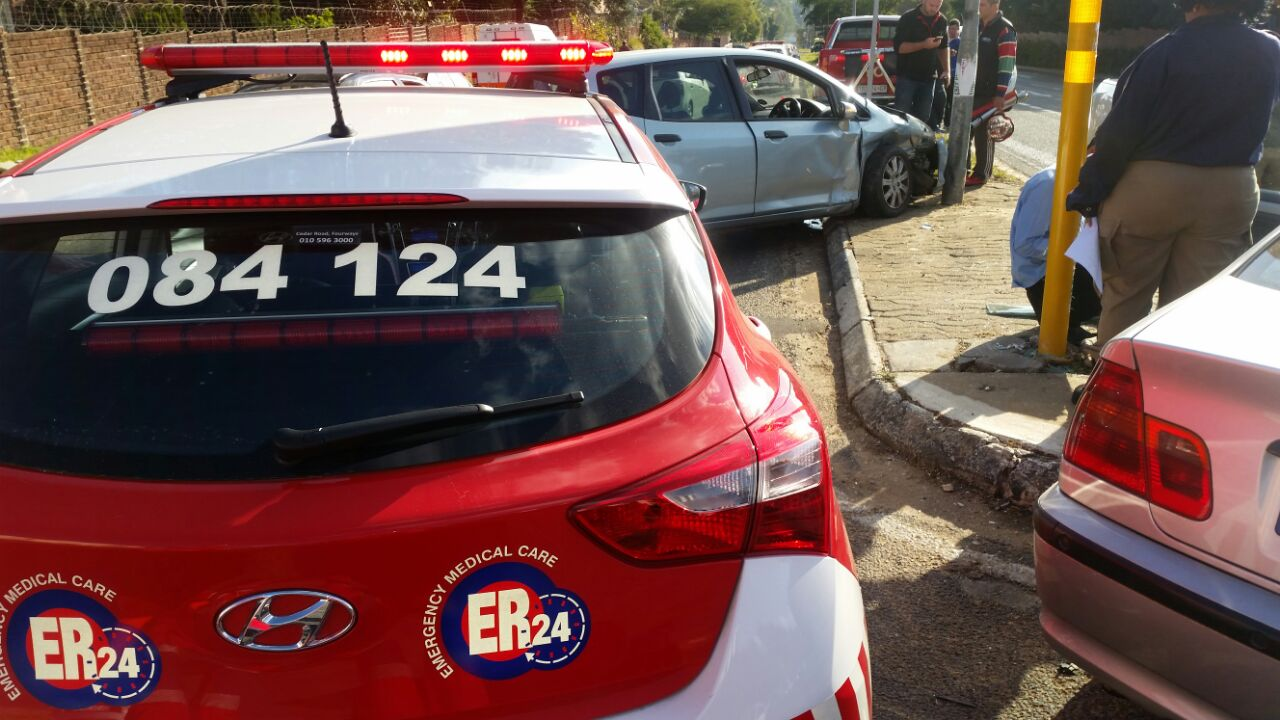 Two women injured in collision in Randburg