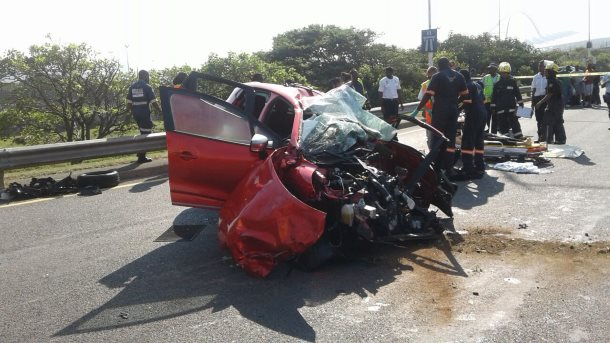 One killed and four injured in Argyle Road crash in Durban (1)