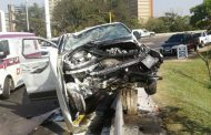 One killed and four injured in Argyle Road crash in Durban