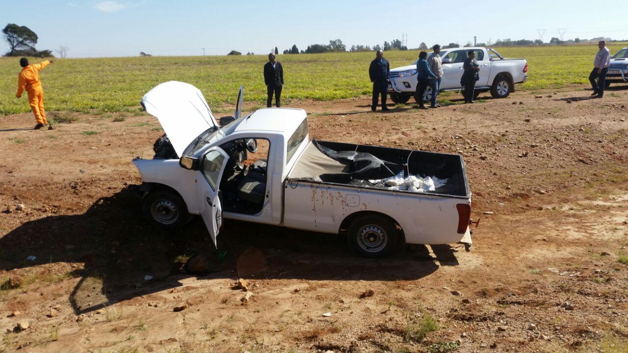 Three injured in head-on collision, Diepsloot